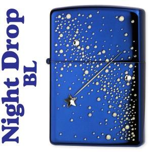 zippo(ジッポーライター) ナイトドロップジッポライター イオンブルー 2ND-BL2