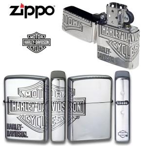 送料無料!ZIPPO(ジッポーライター)ハーレーダビットソン/HDP-33