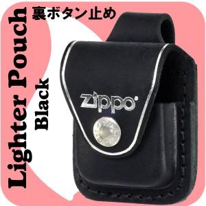 【ZIPPO】ジッポー革ケース★黒