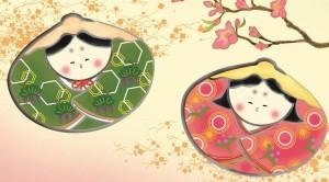 額飾り [桃の節句] 【貝雛】 井川洋光 [大] [G4-BO022-d]【代引き不可】