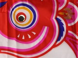 [徳永][鯉のぼり]庭園用[ポール別売り]大型鯉[5m鯉5匹]【錦龍】[金太郎付][雲龍吹流し][日本の伝統文化][こいのぼり]