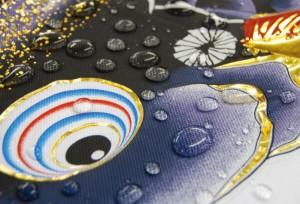 [徳永][鯉のぼり]庭園用[スタンドセット](砂袋)ポールフルセット[3m鯉3匹][千寿][千寿吹流し][撥水加工][日本の伝統文化][こいのぼり]
