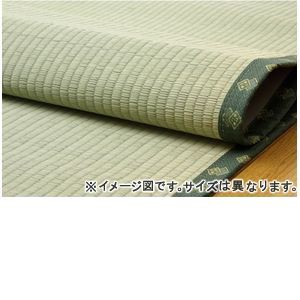 フリーカット い草上敷 『F竹』 本間8畳(約382×382cm)(裏:ウレタン張り) [13]