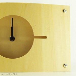 時計 壁掛け WALL CLOCK S ブラウン YK07-001  [01]