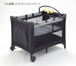 プレイヤード| New York・Baby(ニューヨーク・ベビー)送料無料 コンパクトに折畳み可能 カワイイ トイバー付 カトージ