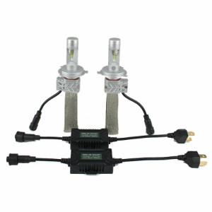 MAZDA スピアーノ H18.4〜H20.11 ヘッドライト ロービーム[H4]2個入り PHILIPS LED H4 HI/LO ヒートリボン採用 送料無料 1年保証 K&M