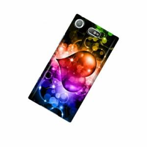 ドレスマ ハート カバー ケース スマホ ハード Xperia XZ1 Compact SO-02K 専用 ドレスマ SO02K-12HT042