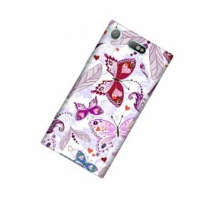 ドレスマ フラワー 花柄 カバー ケース スマホ ハード Xperia XZ1 Compact SO-02K 専用 ドレスマ SO02K-12FW380