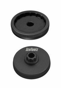 IceToolz アイスツールズ 11F3ボトムブラケットツール 自転車用工具 シマノホローテックIIなどのエクスターナルBBの脱着工具