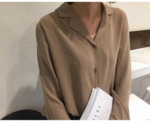 長袖シャツブラウス レディース 2017秋冬新作【6608-bra1035d】【予約:10-15日】
