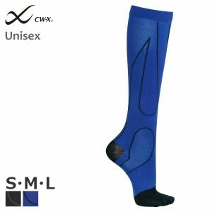 ワコール CW-X ユニセックス プレーンソックス ロング (S M L) BCR609[m]