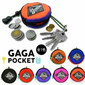 GAGAPOCKET ガガポケット mini ポーチ キーリング 小銭入れ コインケース