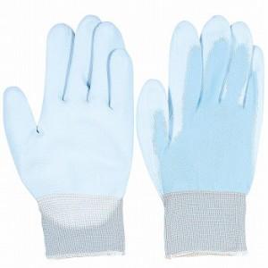 背抜き手袋 おたふく手袋 ピタハンド ブルー [120双入] A-235 ポリウレタン