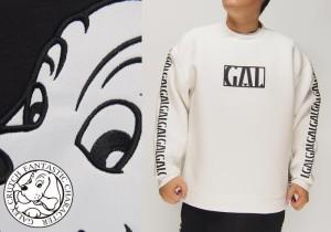 GALFY[ガルフィー] スリットクルー トレーナー/174052/送料無料