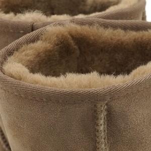 【10%OFF】emu エミュー シープスキン ブーツ STINGER LO スティンガー ロー MUSHROOM(W10002)/正規品【EUロゴ】