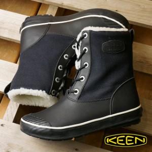 キーン KEEN レディース ウィンターブーツ スノーブーツ エルサ ブーツ ウォータープルーフ ウィメンズ Black (1015633 FW16)