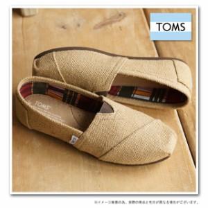 30%OFF TOMS トムスシューズ レディース スリッポン オリジナル クラシックス Burlap (001004B07 SS15)