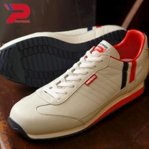 【即納】PATRICK MARATHON-L パトリック スニーカー 靴 マラソン レザー トリコロール(98800)