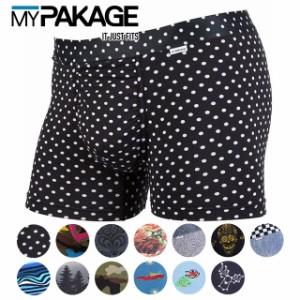 【即納】MYPAKAGE マイパッケージ ボクサーパンツ ウィークデイ トランクス プリント (MPWTP)