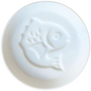 国産醤油皿1枚/鯛(調味料ギフト)