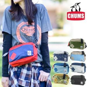 チャムス/CHUMS/2wayショルダーバッグ/ポーチ/SWEAT NYLON/ミニスクエアショルダー/ch60-2121/メンズ/レディース/B6