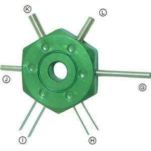 ProTOOLs(プロツールス)  ターミナルツール配線コネクター グリーン