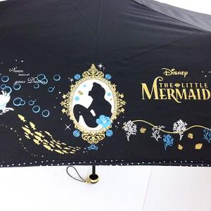 リトルマーメイド アリエル 折りたたみ傘 晴雨兼用 ドリーム キャラクター
