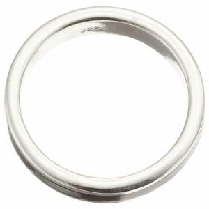 リング 指輪 シルバー925製 スタンダード ピンキー シンプルリング 無駄のないデザイン シェルライン カジュアル