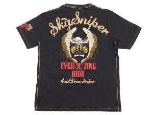 クールドライブストライカー Tシャツ イーグル COOL DRIVE STRIKER メンズ 半袖tee 423102 黒 新品