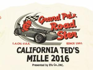 テッドマン Tシャツ TDSS-448 TEDMAN クラシックカーレース エフ商会 メンズ 半袖tee オフ白 新品