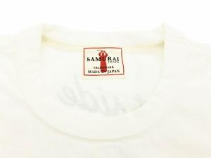 サムライジーンズ Tシャツ SJST16-102 京都 大阪 神戸 Samurai Jeans メンズ 半袖tee オフ白 新品