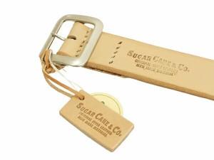 シュガーケーン ベルト SC02320 メンズ レザー ギャリソンベルト #133 ベージュ 新品