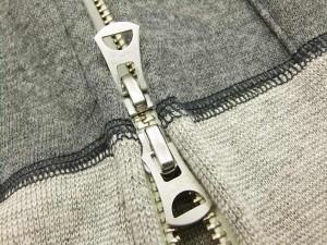 バーンズ アウトフィッターズ ジップカーディガン BR-7331 メンズ 無地 ジップスウェットシャツ #18チャコール 新品