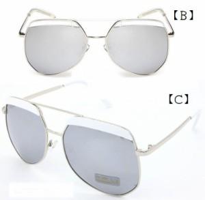 【ゲリラSALE】サングラス レディース 紫外線対策 UVカット 女性用 軽量 モッズ モード セレブ