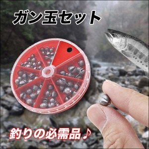 ◆渓流、釣りに大活躍!!◆エギング◆釣りの必需品!!◆エギおもり◆ガン玉◆