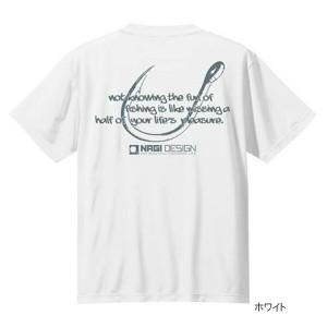 NAGIデザインTシャツ フック L ホワイト