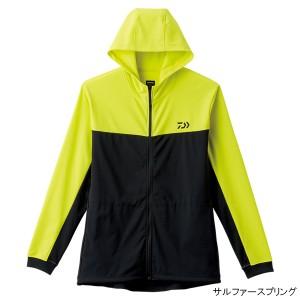 BUG BLOCKER+UV 防蚊フーディーフルジップシャツ DE-53008 L サルファースプリング