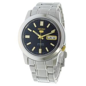 セイコー SEIKO セイコー5 SEIKO 5 自動巻き メンズ 腕時計 時計 SNKK17K1 ブラック【楽ギフ_包装】