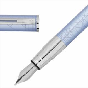 WATERMAN ウォーターマン パースペクティブ デコブルーCT 万年筆 ペン先 F:細 S2236132
