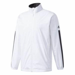 adidas(アディダス) M ESSENTIALS ベーシックウインドブレーカージャケット (裏起毛) DUV68 【カラー】ホワイト 【サイズ】J2XO