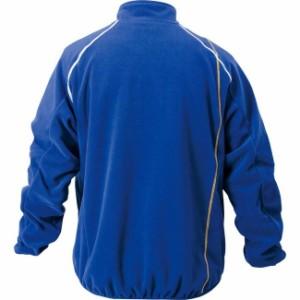 ZETT(ゼット) フリースジャケット(裏タフタ付) BOF130 【カラー】ロイヤルブルー 【サイズ】2XO