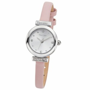 3b23d54689e1 TirrLirr 腕時計 ジュエリー ウォッチ ブランド レディース 革ベルト twc-001PK(代引不可)