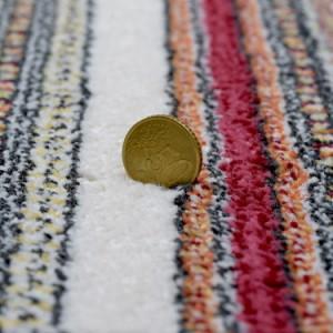 ベルギー製 ウィルトン織マット 67×120cm ブルー ヨーロピアンラグ ラグ カーペット ホットカーペット 長方形(代引不可)【送料無料】