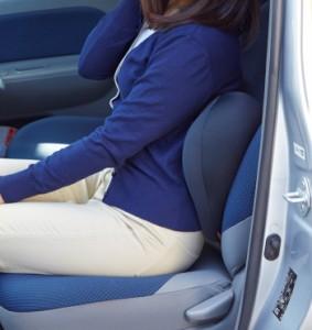 CuCu ビークル キュキュ クッション 腰用 ビーズ キュービーズ 腰痛    骨盤 運転 車 椅子 車椅子   骨盤クッション  ドライブ (代引不可