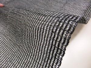 日よけ 洋風すだれ ストライプ ソフト ブラック カラフル 桟タイプ フック付 約幅90×高さ135cm 日本製 紫外線カット 遮光シート(代引不
