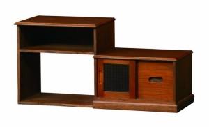 コワン スライド収納 COWAN-SS キャビネット スライド収納 和風 伸縮式 天然木 コワン(代引不可)【送料無料】