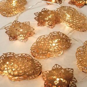 アメイジング LED メタルスノー&オウルガーランド ブロンズ アメイジングクリスマス(代引不可)