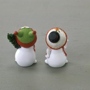 クリスマス ハッピーフレンズ ミニCUTEスノーマン2種セット E(代引不可)