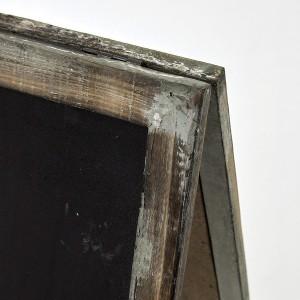 掲示板 立看板 黒板 サインボード SHABBY GARDEN DISPLAY BLACKBOAD Lサイズ(代引不可)