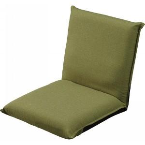 低反発コンパクト座椅子 Jベスト グリーン 木製品 家具 ソファ 座椅子 肘なし座椅子 ミクセル座椅子 Jベスト グリーン(代引不可)